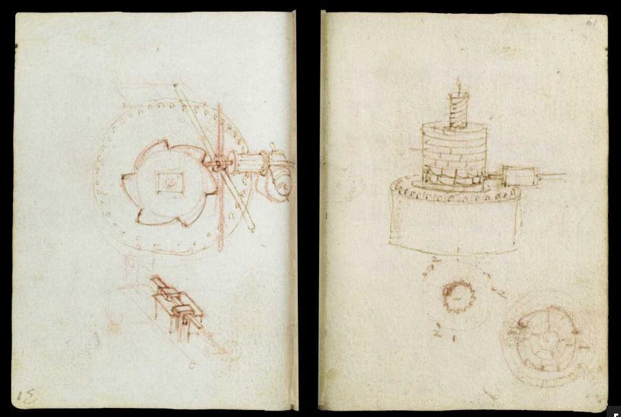 Научные книги Леонардо да Винчи выложили в открытый доступ 40