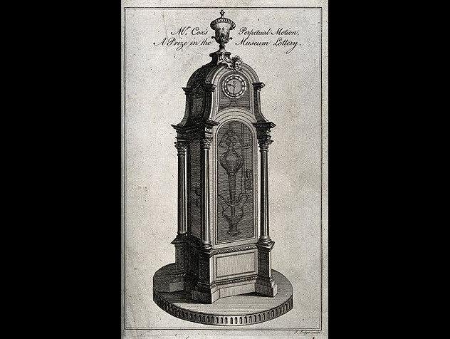 Джеймс Кокс, автор «философских часов»: предприниматель или ювелир, изобретший вечный двигатель? 5