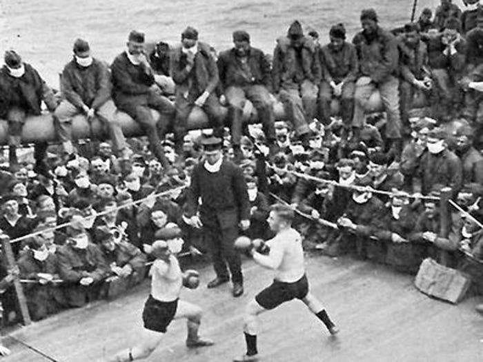 Как пандемия гриппа 1918 года поставила мир на колени 12
