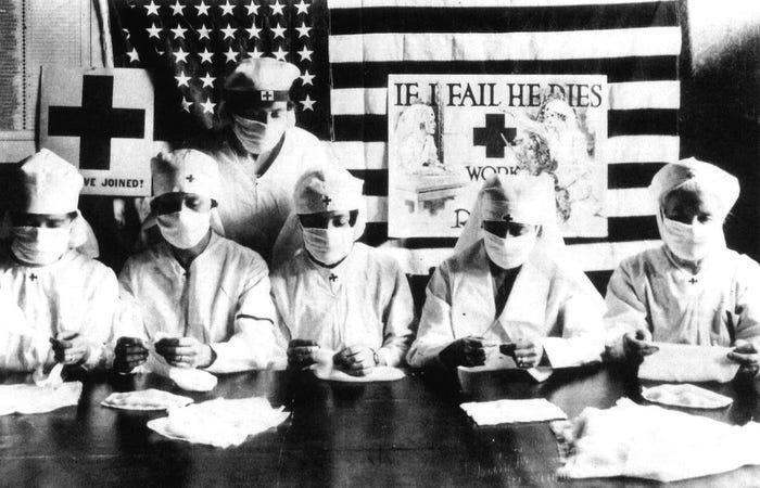 Как пандемия гриппа 1918 года поставила мир на колени 11