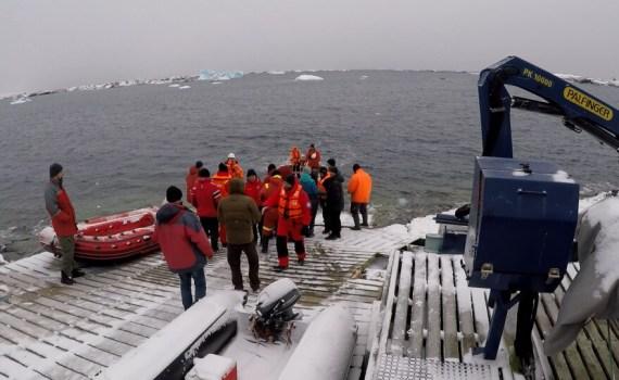 Участники 25-й Украинской экспедиции добрались до Антарктиды 17