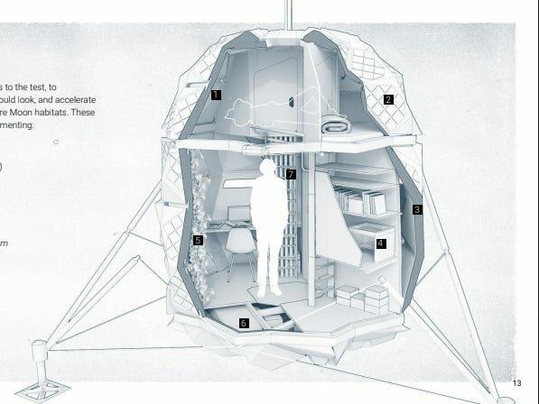 Лунный дом, который создают датские архитекторы. 5