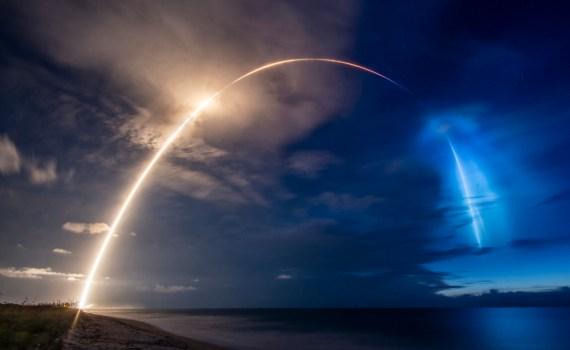 SpaceX Илона Маска вывела на орбиту 58 спутников 8