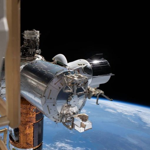 Ураган вмешался в планы по возвращению Crew Dragon на Землю 34