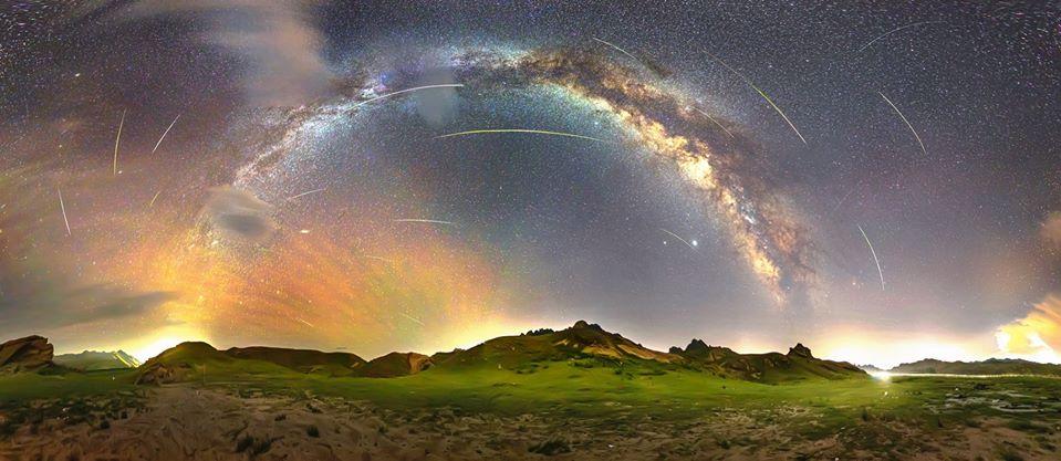 Метеорный поток Персеиды в объективах фотографов 10