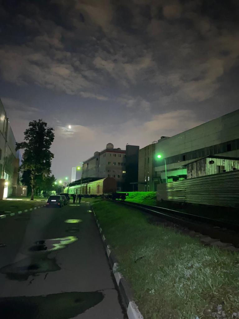 Российский модуль «Нака» отправлен на Байконур 7
