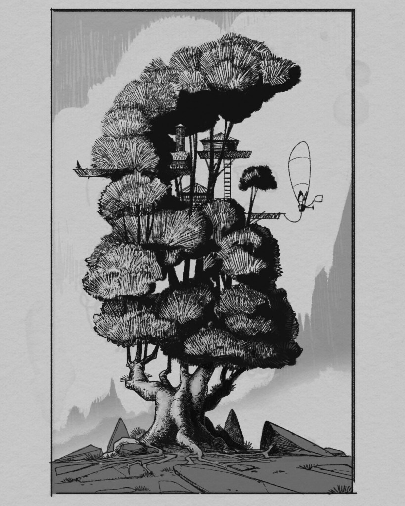 Экологам на вооружение. Японские кедры китаяма в технике 14 века 6
