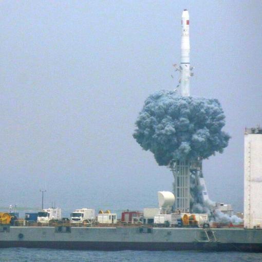 Китай строит морской порт для космических запусков 8