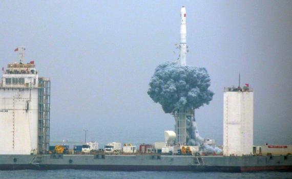 Китай строит морской порт для космических запусков 6