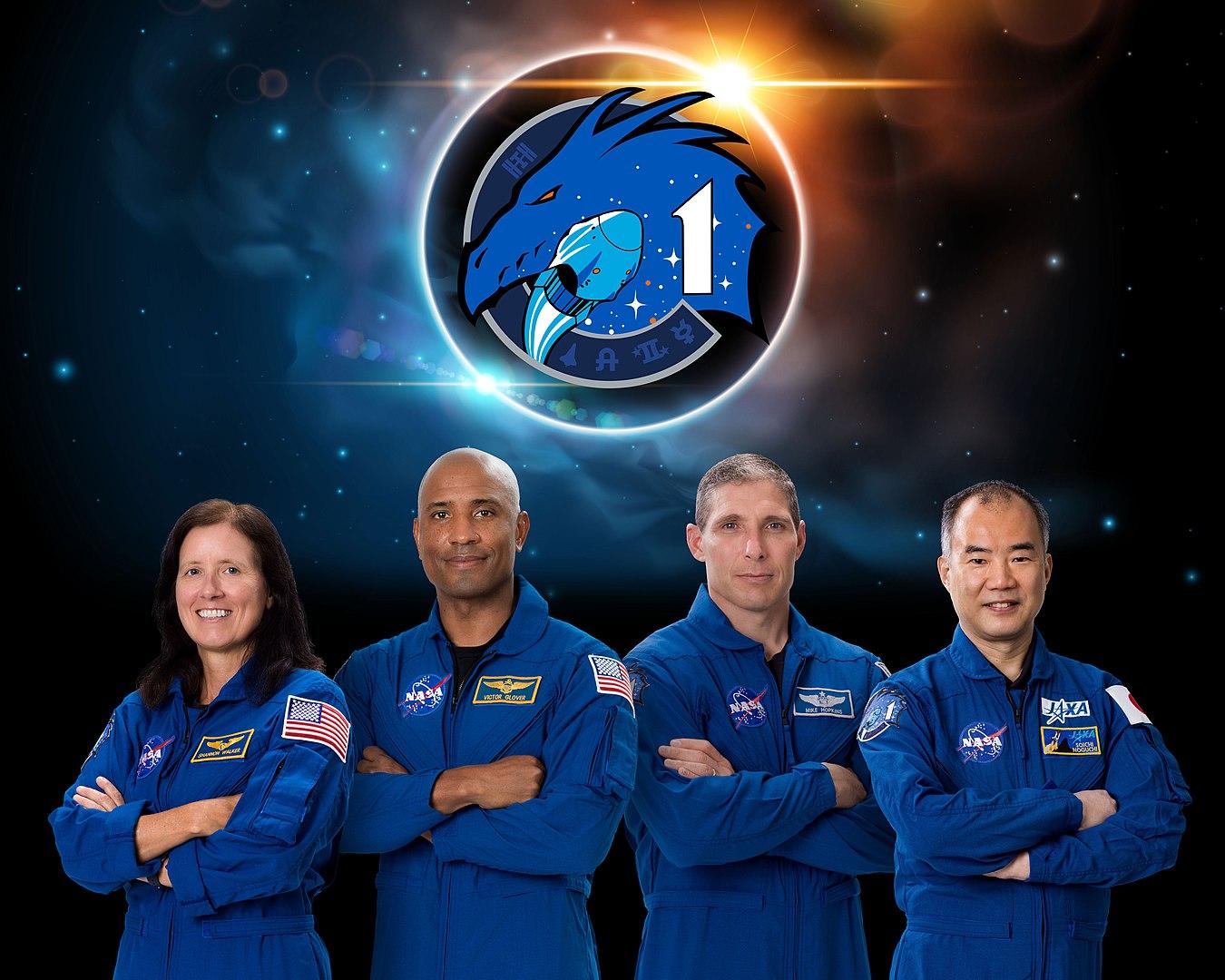 Следующий полёт Crew Dragon с космонавтами на борту состоится в конце октября 1