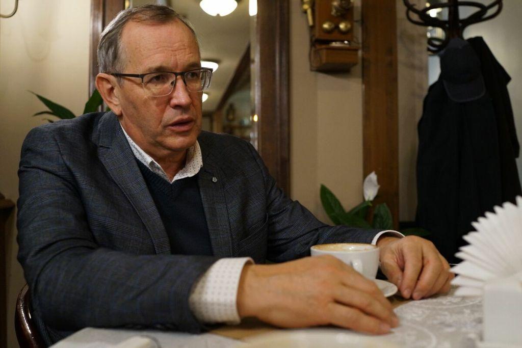 Интервью с новым ректором Одесского экономического А. Ковалёвым 4