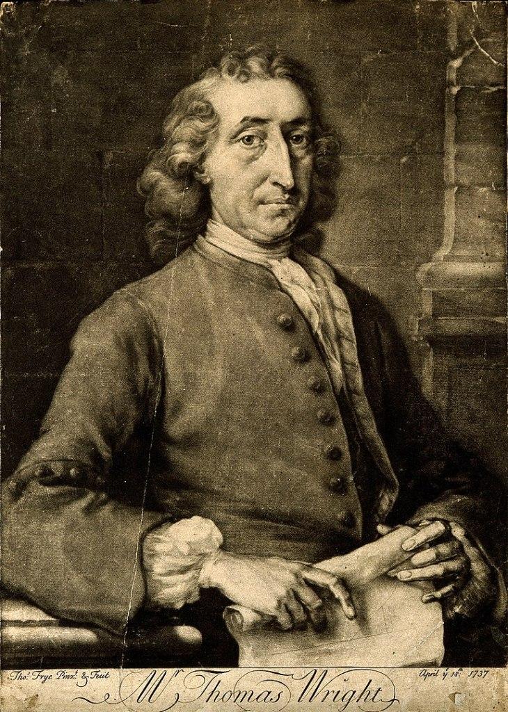 Оригинальная теория или новая гипотеза Вселенной Томаса Райта (1750 г.) 2