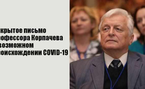 Профессор Корпачёв о возможном происхождении COVID-19 9