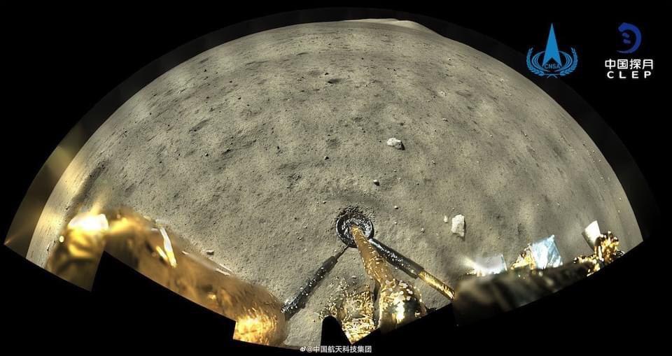 Китайский модуль уже на Луне 3