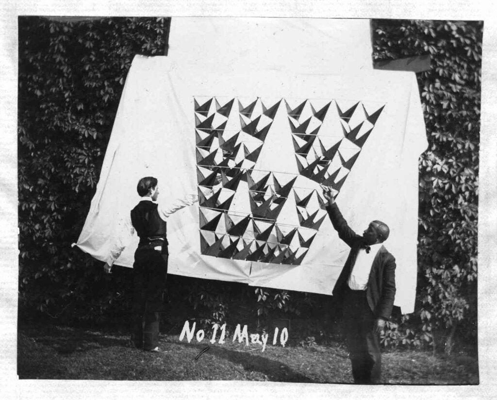 Тетраэдрические воздушные змеи Александра Грэма Белла (1903–1909) 5