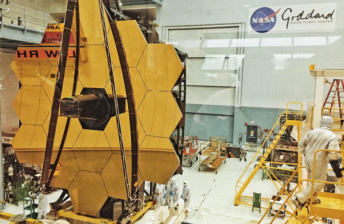 Телескоп Джеймс Вебб – путешествие в неизвестность 1