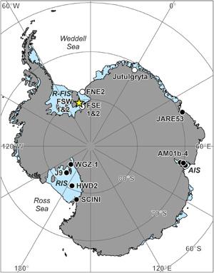 На антарктическом шельфе Подо льдом процветает жизнь 2