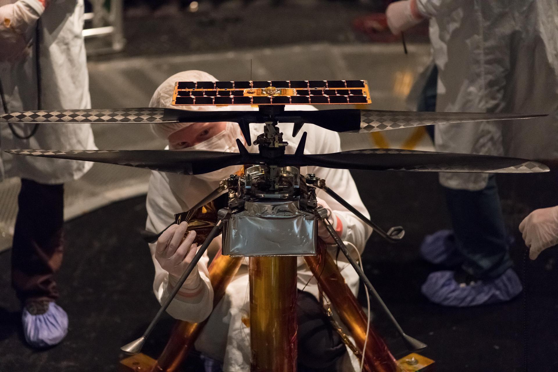 О первом марсианском вертолёте: интервью с разработчиком Ingenuity 1