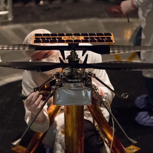 О первом марсианском вертолёте: интервью с разработчиком Ingenuity 5