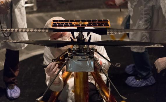 О первом марсианском вертолёте: интервью с разработчиком Ingenuity 9