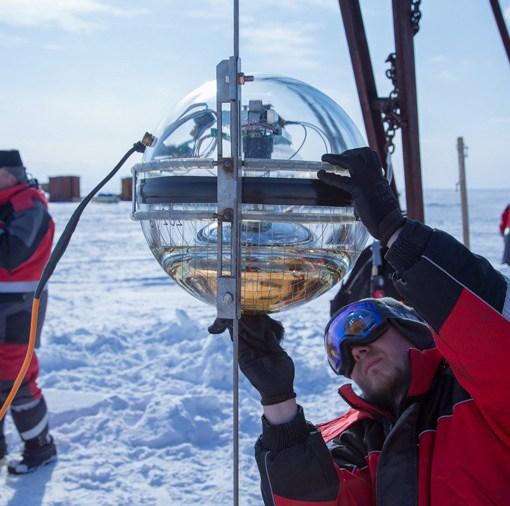 На Байкале запустили глубоководный телескоп 15