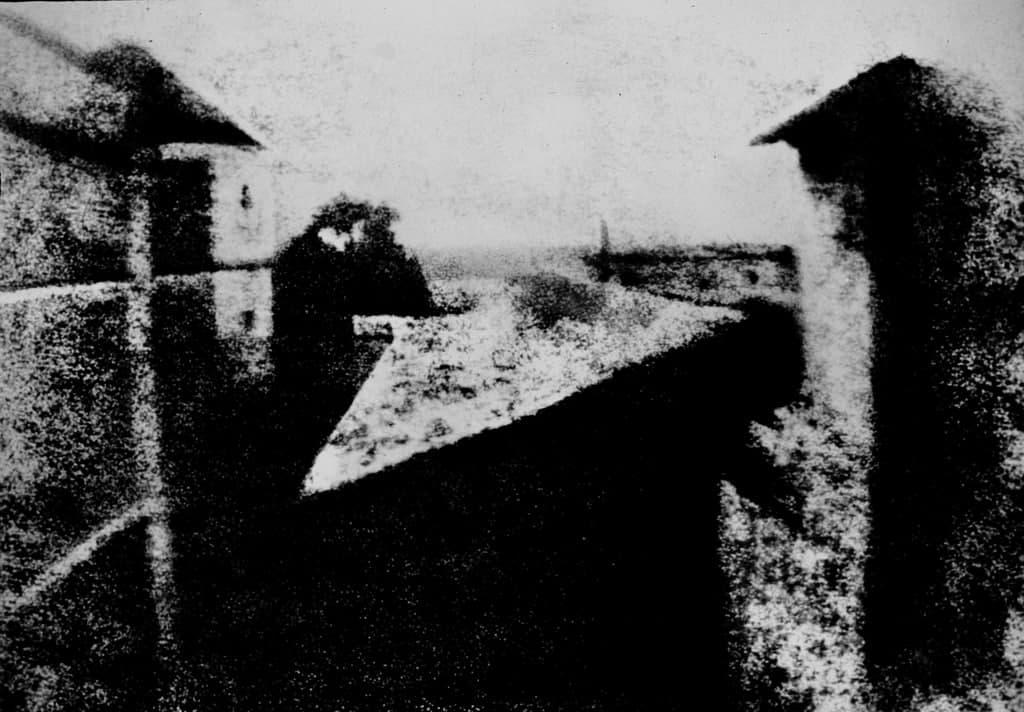 Жозеф Ньепс и его первая в мире фотография 1