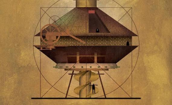 Если бы культовые художники были архитекторами, как представлял Федерико Бабина 4