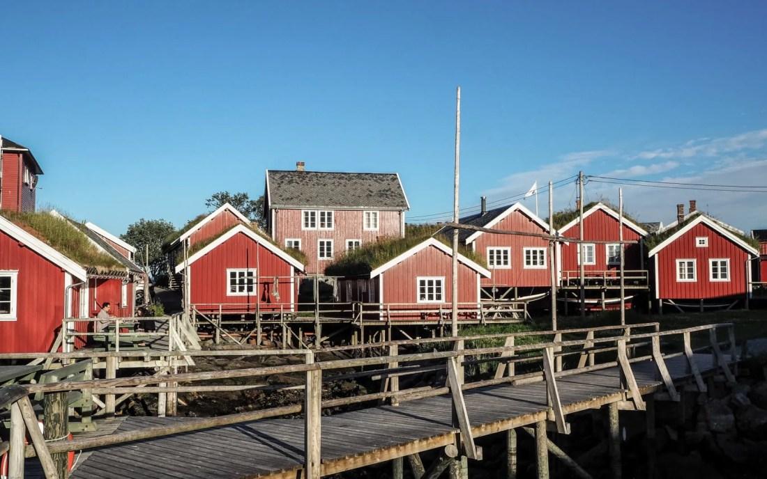 Reine : Cabanes de pêcheurs, Lofoten