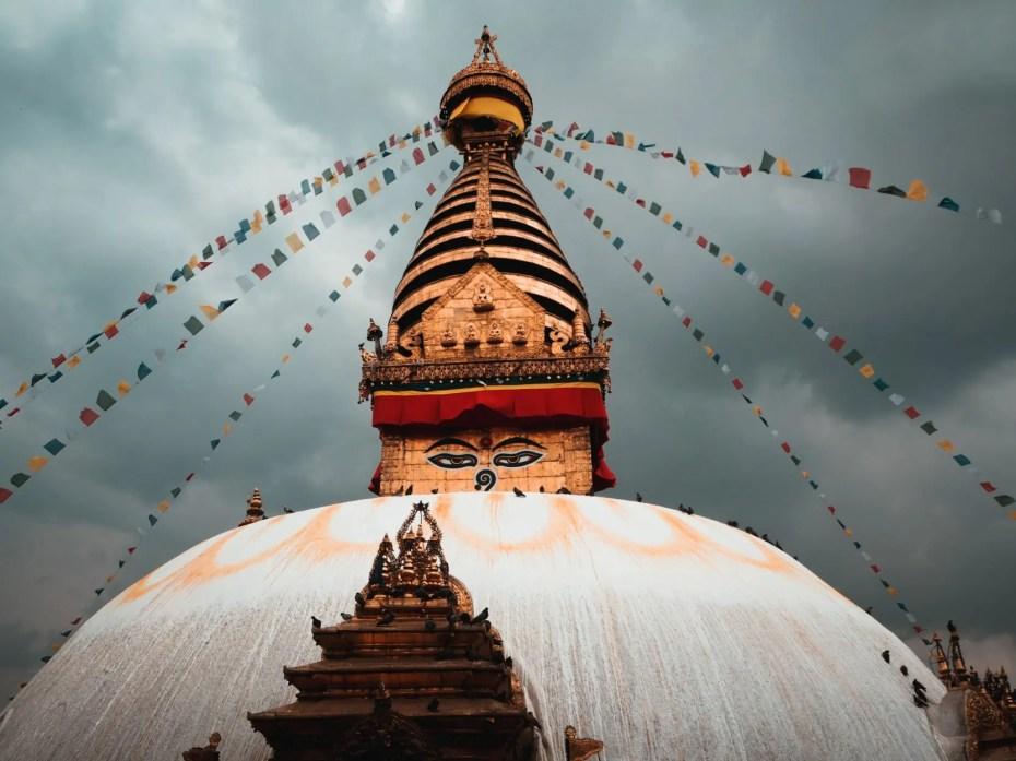 Swayambhunath visiter katmandou