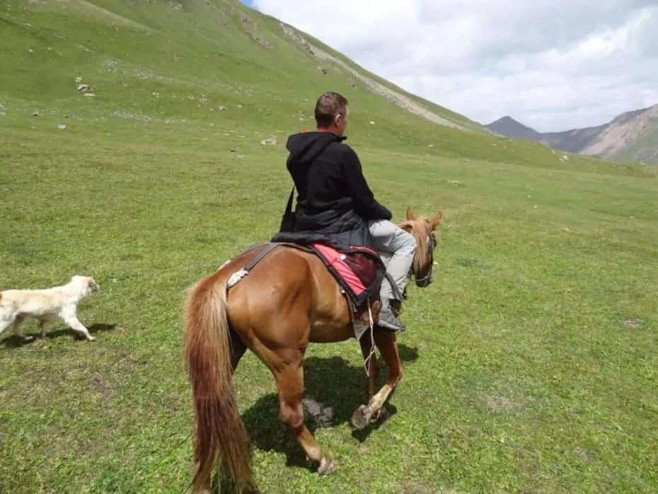 Trek à cheval