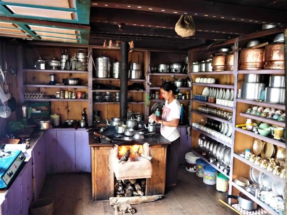 thé népal cuisine trek annapurnas