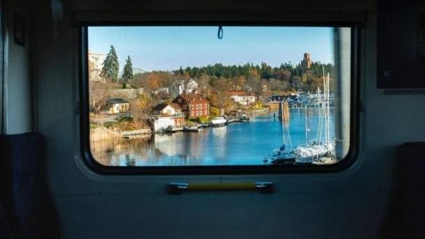 Norvège pas cher en train