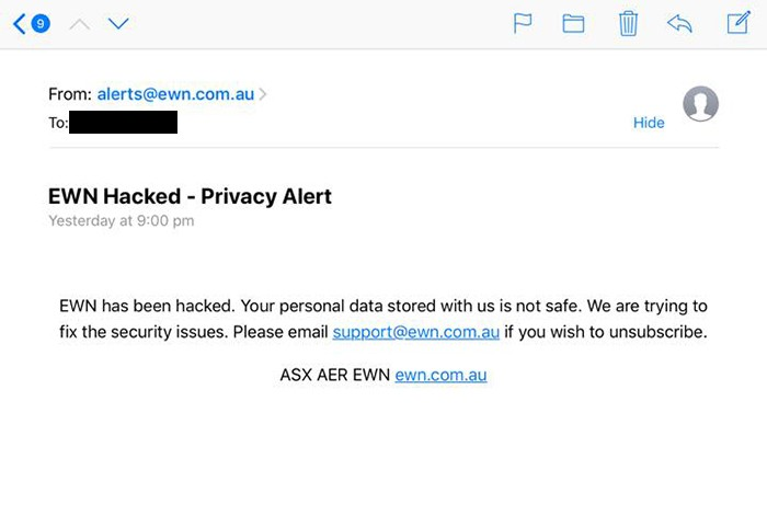 email-sent-to-residents-by-a-hacker-data
