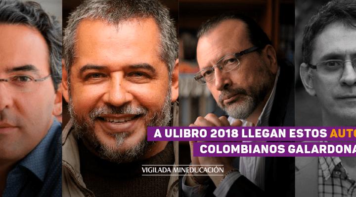 A Ulibro 2018 llegan 4 autores galardonados