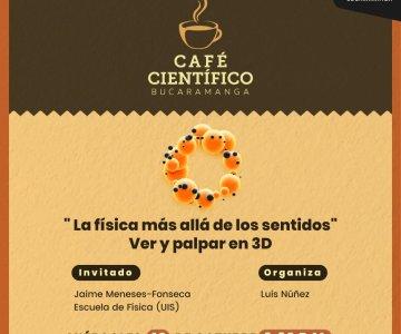 """""""café científico"""" en la Casa del Libro Total"""