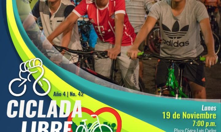 Ciclada este domingo en Bucaramanga