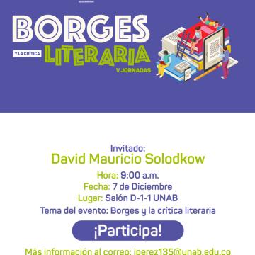 Jornada de Análisis Literario
