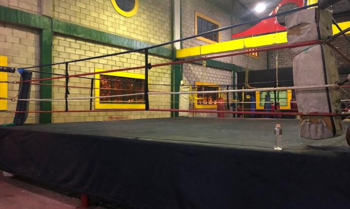 Escenario deportivo de boxeo necesita remodelación
