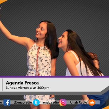 Agenda Fresca 12 de Julio