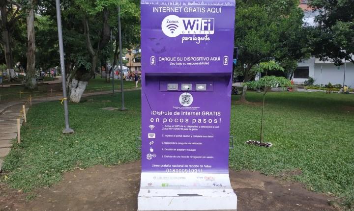 Usuarios denuncian mal estado de la Zona WiFi del Parque San Pío
