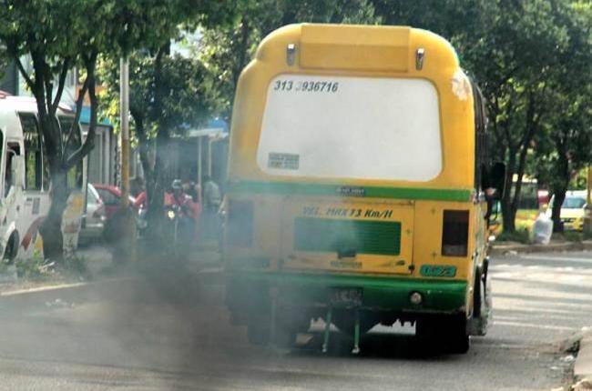 La calidad de aire en Girón no mejora