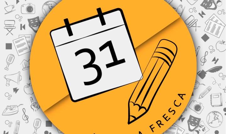 Agenda Fresca 31 de julio