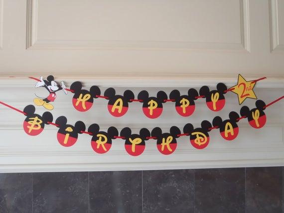 ideas para un cumpleaños de mickey