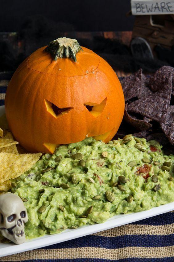 comida para halloween
