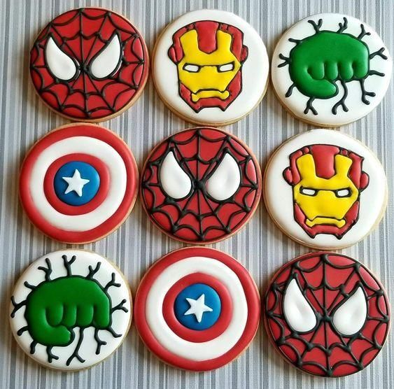 cookies advengers