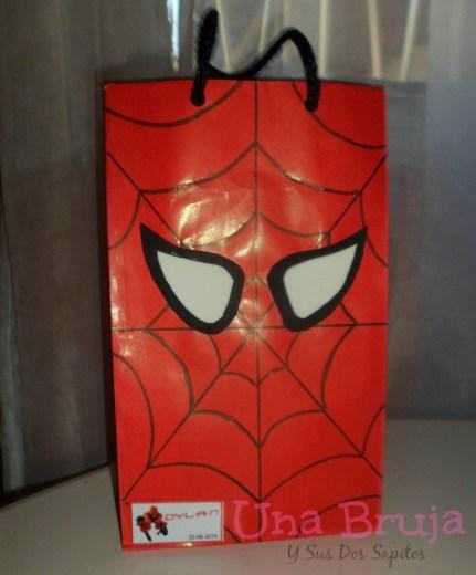 bolsitas del hombre araña