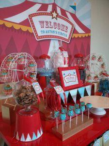 mesa dulce circo