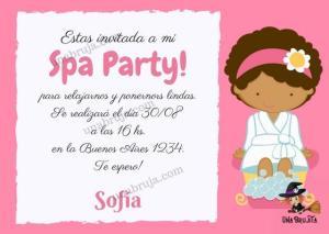 invitacion digital Spa