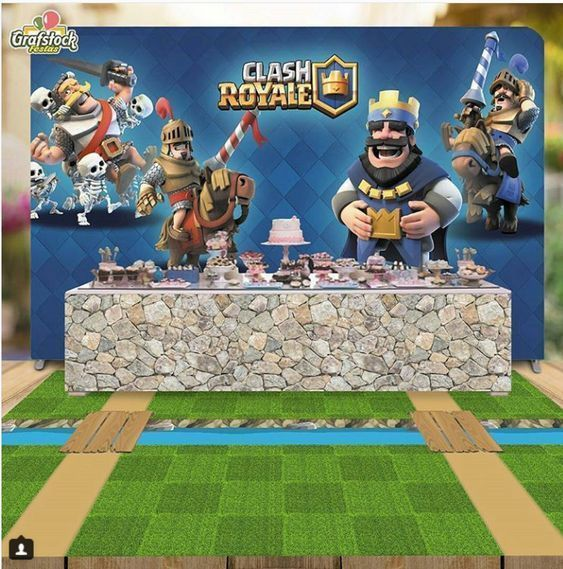 ideas para un cumpleaños de clash royal