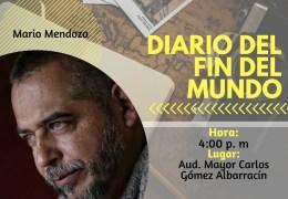 Encuentro con autor 'Diario del fin del mundo'.